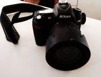 Reflex Nikon D90 + objectif + carte SD