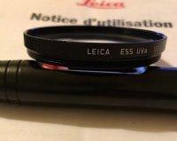 Filtre original Leica UV-A E55