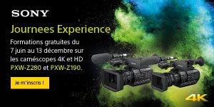 JOURNEES EXPERIENCE PXW-Z280 & PXW-Z190