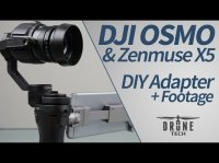 DJI OSMO with X5 Gimbal: How to install the Zenmuse X5 with sample footage